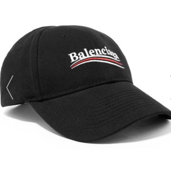 0e3b58b7 Balenciaga Accessories - New Authentic Balenciaga Campaign Hat, Black
